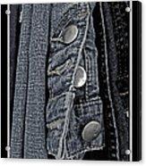 Button Ups Acrylic Print