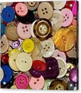Buttons 667 Acrylic Print