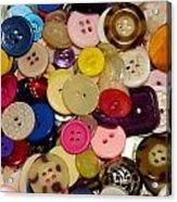 Buttons 670 Acrylic Print