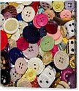 Buttons 678 Acrylic Print