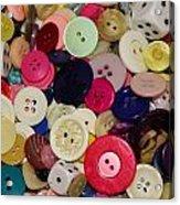 Buttons 680 Acrylic Print