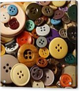 Buttons Acrylic Print