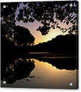 Buttonwood Sunset Acrylic Print