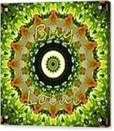 Buy Local Green 1 Acrylic Print