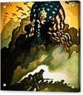 Buy War Bonds Acrylic Print