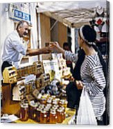 Buying Honey Acrylic Print