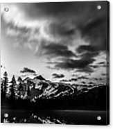 Bw Reflection Acrylic Print