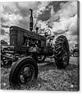 Bwcday4 Tractors Acrylic Print