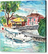 By A French Canal 02 Acrylic Print