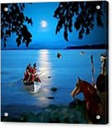 By Cover Of Night Acrylic Print