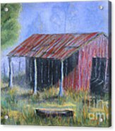 By The Barn Out Back Acrylic Print