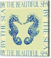 by the beautiful sea II Acrylic Print by Jane Schnetlage