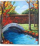 By The Bridge Acrylic Print