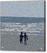 By The Ocean Acrylic Print