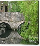 By The Old Mill Stream Acrylic Print