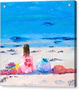 By The Seaside Acrylic Print