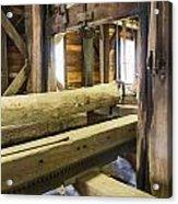 Bygone Sawmill Acrylic Print