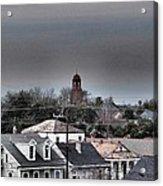 Bywater Rooftops Acrylic Print