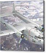 C-119 Flying Boxcar Acrylic Print