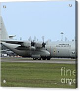 C-130j Super Hercules Of The Royal Thai Acrylic Print