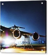 C-17 Lights Acrylic Print