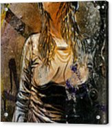 C215 Beautiful Model Acrylic Print