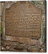 Ca-670 Mariposa County Courthouse Acrylic Print