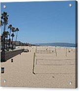 Ca Beach - 12121 Acrylic Print