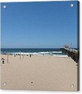 Ca Beach - 12123 Acrylic Print