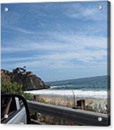 Ca Beach - 12127 Acrylic Print