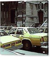Cab Central Acrylic Print