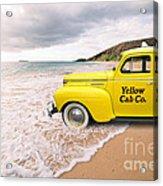 Cab Fare To Maui Acrylic Print