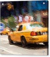 Cab Ride Acrylic Print