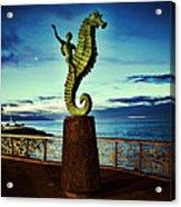 Caballeo Del Mar Acrylic Print
