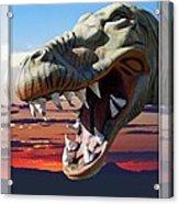 Cabazon Dinosaur Acrylic Print