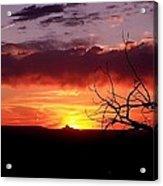 Cabazon Sunset Acrylic Print