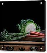 Cabbage And Carrots Acrylic Print