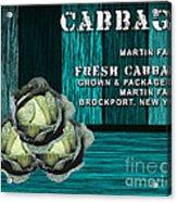 Cabbage Farm Acrylic Print