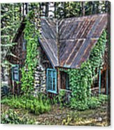 Cabin At Cooks Station Acrylic Print