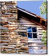Cabin At Mabry Mill Acrylic Print
