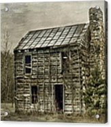 Cabin By The Track Series II Acrylic Print