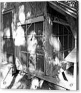 Cabin In The Wood Acrylic Print