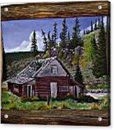 Cabin Acrylic Print