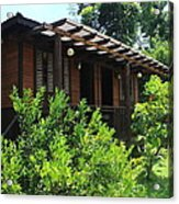 Cabin Near Taal Lake Acrylic Print