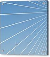 Cable Bridge Detail Acrylic Print