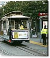 Cable Car At Fisherman's Wharf Acrylic Print