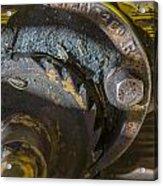Cable Car Brake Close Up Acrylic Print
