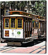 Cable Car - San Francisco Acrylic Print