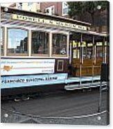 Cable Car Turn-around At Fisherman's Wharf No. 2 Acrylic Print