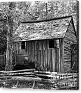 Cable Grist Mill 1 Acrylic Print by Mel Steinhauer